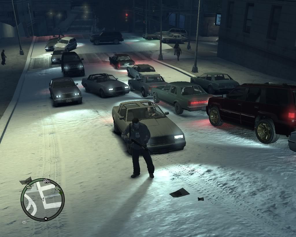 Снежный мод для GTA 4